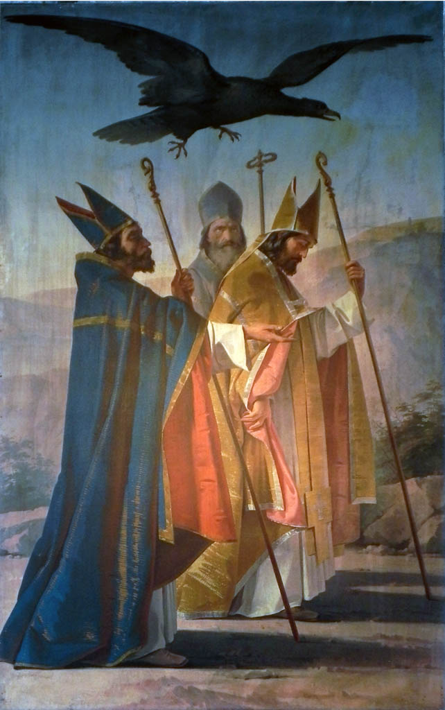 S.Riccardo, S.Sabino e S.Ruggiero si recano al Gargano