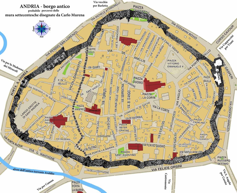 Cartina Puglia Villaggi
